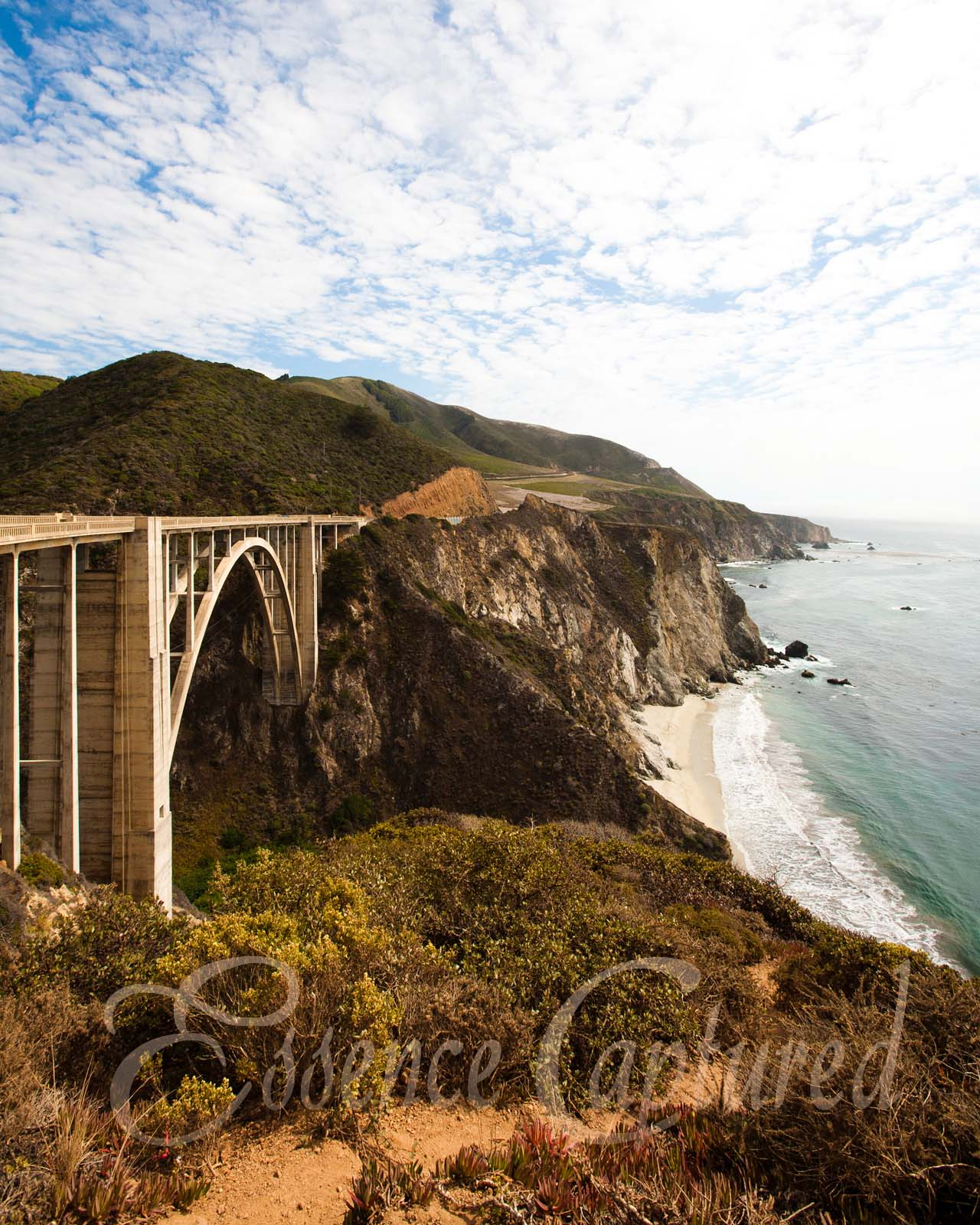 Bixby Bridge Big Sur Coast Highway 1 California