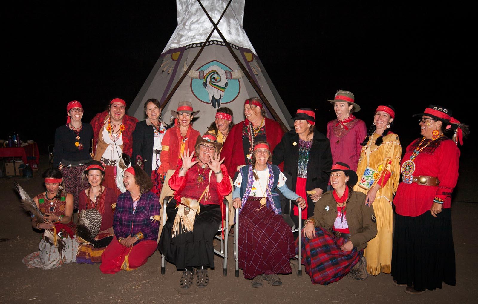 Circles of Empowerment Firekeepers Teepee
