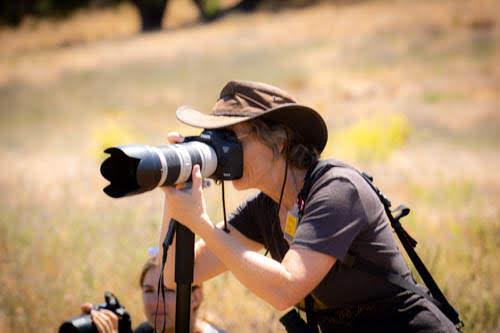 Lori shooting at Return to Freedom Wild Horse Sanctuary 2018