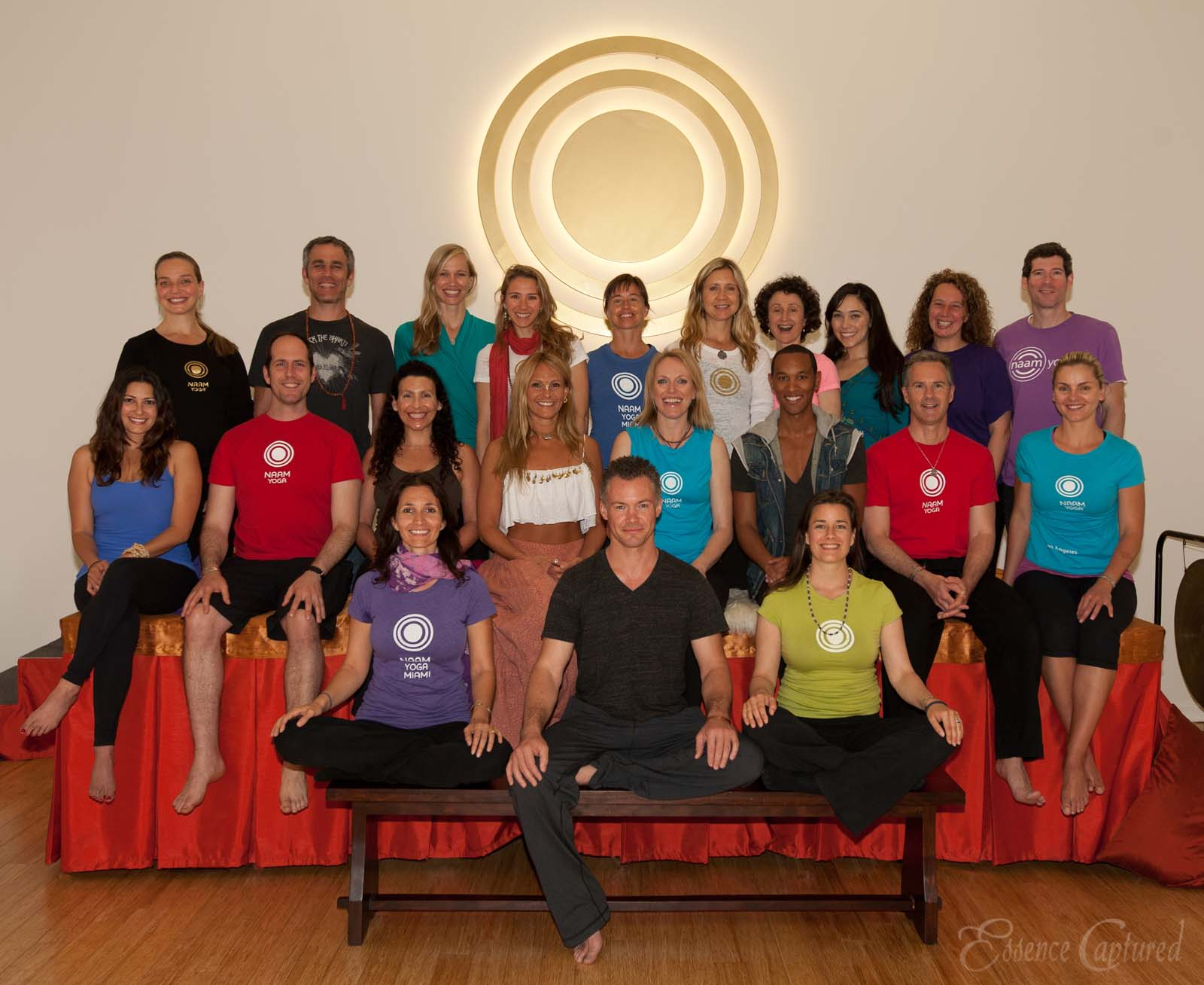 Naam Yoga Teachers group photo